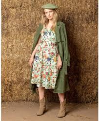 <b>Retro</b> Animal Dresses | <b>Vintage Animal Print</b> Gowns | Lindy Bop