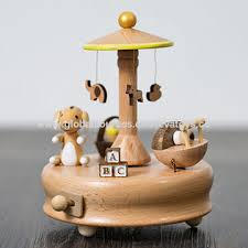 China Wonderful children <b>cartoon toys wooden</b> music boxes from ...