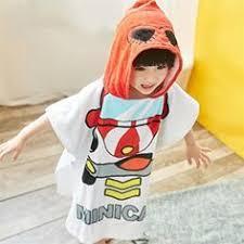 Children Kid Boy Girl Stars <b>Pattern</b> Flannel Bathrobe Hooded ...