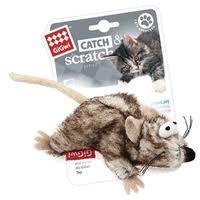 <b>Игрушка</b> для кошек <b>GiGwi</b> Catch & Scratch Мышка (75383 ...