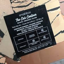 <b>Smashbox Cali</b> Contour Palette - Two Chicks and Some Lipstick