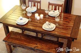 barn kitchen table diy dining table diy pallet dining table