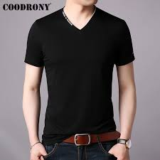 <b>COODRONY T Shirt Men</b> Short Sleeve T Shirt Men Clothing 2019 ...