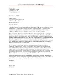 cover letter sample education  seangarrette cocover letter