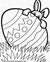 Small Picture Easter Bunny Coloring Pages olegandreevme