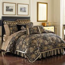 bed bath beyond j queen alicante comforter set in black bathroompersonable tuscan style bed high