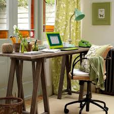 fascinating cream colored rug carpet and wooden plank as rustic home office desks which is placed near green curtains in the corner of the roomjpg breathtaking simple office desk feat unique white