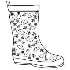 rain boots template blackline masters templates patterns rain boots template invitation templates