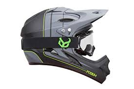 Demon Podium Full Face Mountain Bike Helmet with ... - Amazon.com