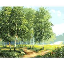 Пара, ходьба в дождливую осень лес <b>набор</b> «Пейзаж» для ...