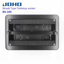 <b>JOHO</b> Desktop Socket Electrical Outlet Data VGA HDMI Audio Port ...