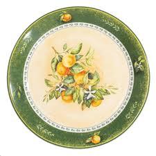 <b>Тарелка Fioretta</b> Mandarins (TDP201) (<b>обеденная</b>, 25 см ...