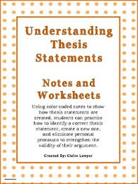 images about essay writing on pinterest   research report    these worksheets are intended to show students how to correctly construct a thesis statement  change