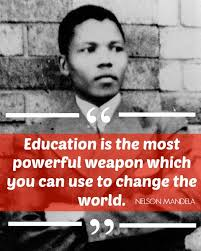 nelson mandela online   quotes  biography  autobiography  movies    nelson mandela   quot education is the most powerful weapon which you can use to change the world