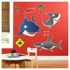 Sharks <b>Wall Decal</b> Multi Colored