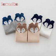 Lawadka <b>3Pair</b>/<b>Lot</b> Soft <b>Cotton</b> Knee <b>Baby Socks</b> Winter Fall Cute ...