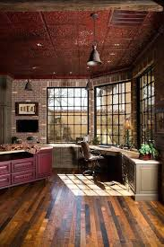 rustic style home office beautiful metal tiles decorative ceiling bathroomgorgeous inspirational home office