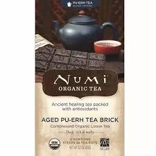 Numi <b>Tea Organic</b> Aged <b>Pu</b>-<b>Erh</b> Brick