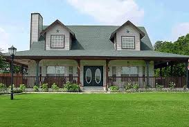 WRAP AROUND HOUSE PLANS   OWN BUILDING PLANSCountry House Plan D   Special Wrap Around Porch by