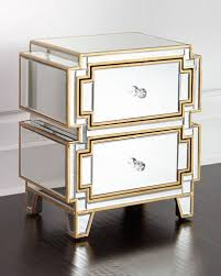 willow mirrored chest borghese mirrored furniture