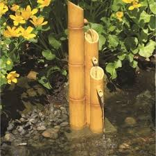 patio pond kit bamboo