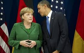 Risultati immagini per merkel obama putin