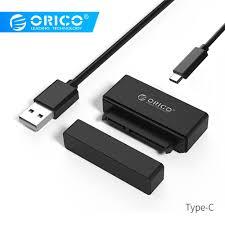 <b>ORICO 2.5 inch</b> Hard Drive Adapter USB3.0 to Type C/Micro B SATA ...
