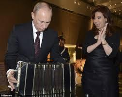 Risultati immagini per Kirchner putin