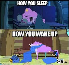 How You Sleep - Lumpy meme on Memegen via Relatably.com