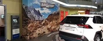 Фотозоны 3000х4500 мм для Toyota <b>RAV4</b>