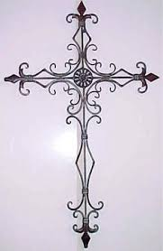 iron wall cross love: decorative metal wall crosses metal cross decorative wall hanging this beautiful wrought iron cross more
