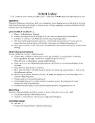 nanny resume example berathen com nanny resume example and get inspiration to create a good resume 16