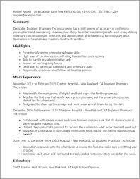 professional inpatient pharmacy technician templates to showcase    resume templates  inpatient pharmacy technician