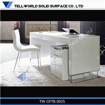 boss modern director office table designacrylic office desk corian solid surface black marble furniture acrylic office desk