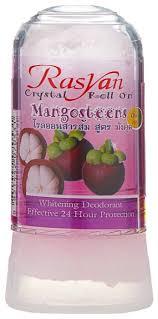 Купить <b>Дезодорант</b>-кристалл <b>Rasyan</b> Mangosteens, 80 г по ...