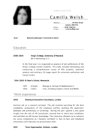 student cv anuvrat info sample cv first year university student sample resume pdf
