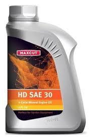 <b>Масло</b> для садовой техники <b>MAXCUT HD</b> SAE 30 1 л — купить по ...