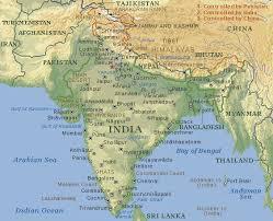 Resultado de imagen para mapa de india