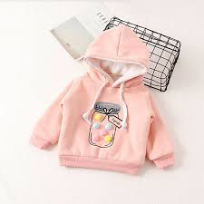 V-TREE plus velvet winter children <b>jackets cartoon</b> girls <b>hoodies</b> ...
