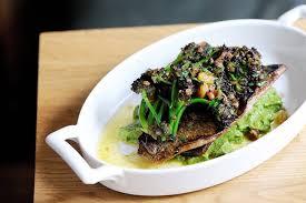 Black Bream Recipe With Almonds & <b>Broccoli</b> Purée - Great British ...