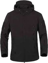 TACVASEN <b>Military</b> Waterproof <b>Men's</b> Softshell <b>Jacket</b> Fleece Lining ...