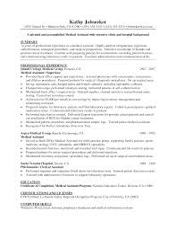 entry level medical assistant resume experience resumes 23 cover letter template for medical assistant resume arvind co