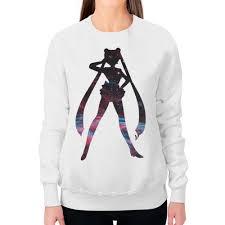 Заказать свитшот женский с полной запечаткой <b>Sailor</b> Moon ...