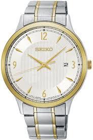 <b>Часы</b> наручные мужские <b>Seiko</b>, SGEH82P1, серебристый, золотой