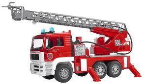 Bruder MAN Fire Engine With Selwing Ladder 02771 ...