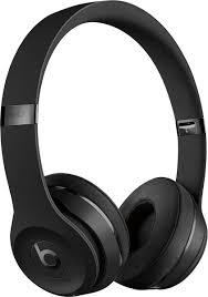 Beats by Dr. Dre Beats Solo³ Wireless Headphones Black ... - Best Buy