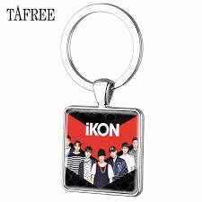<b>TAFREE</b> Korea Famous Handsome Groups IKON white tassels ...