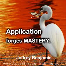 MASTERY Quotes Like Success via Relatably.com