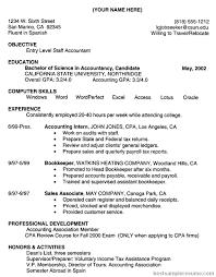 entry level accounting resume summary   free sample resumes    entry level accounting resume summary   ucwords