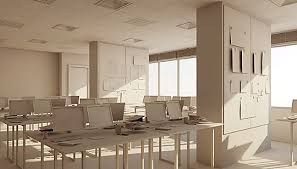cinema 4d modeling with polygons office interior tutorial architectural office interiors